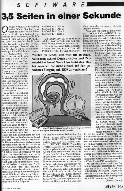 1988 - Weak Link