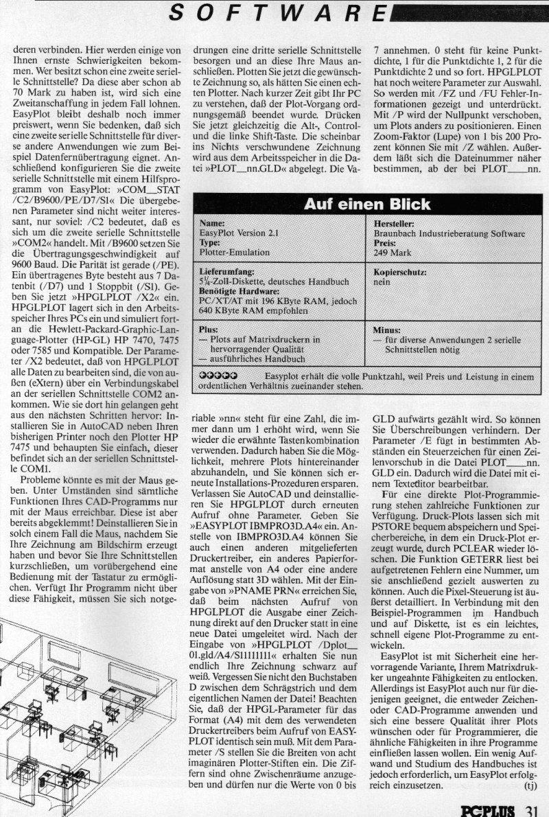 1988 - Plotten ohne Plotter 2