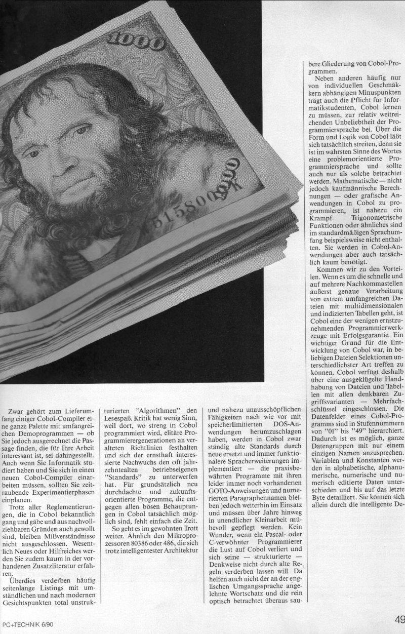 1990 - Cobol, der Sprach-Koloss 2
