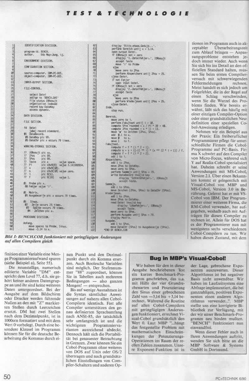 1990 - Cobol, der Sprach-Koloss 3