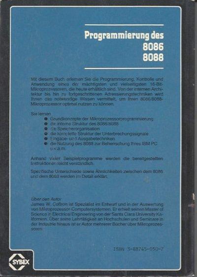 Programmierung des 8086 8088 von James W. Coffron