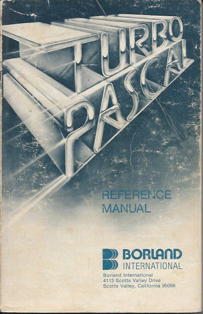 Turbo Pascal Reference Manual von Borland International