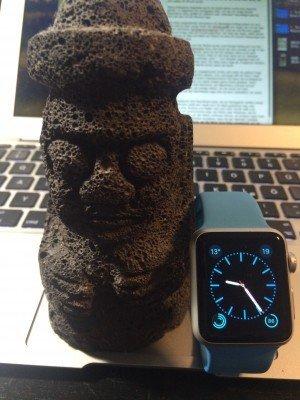 Horubang mit Apple Watch