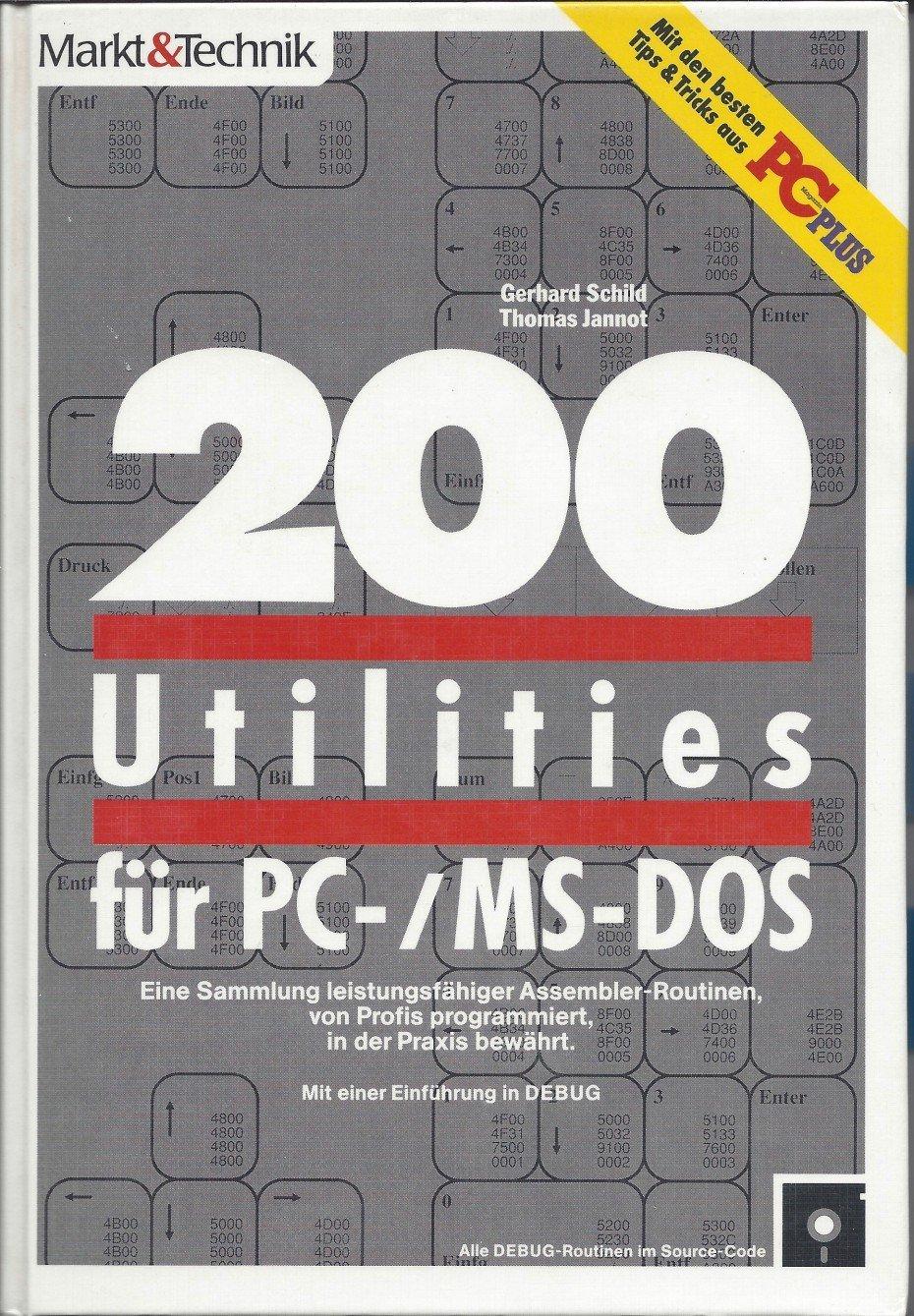200 Utilities für PC-/MS-DOS