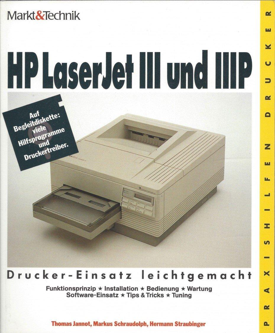HP LaserJet III und IIIP