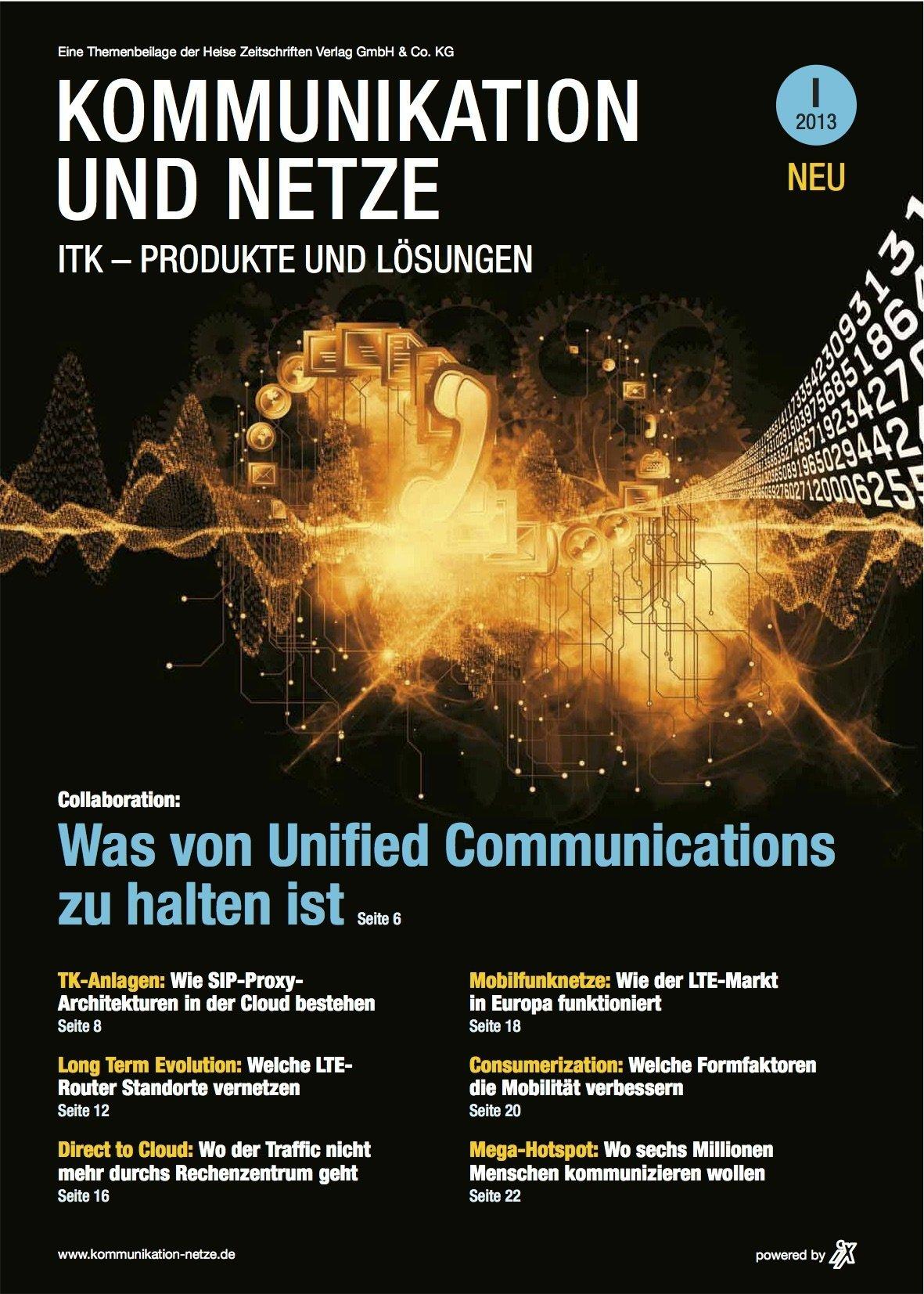 Kommunikation und Netze 2013