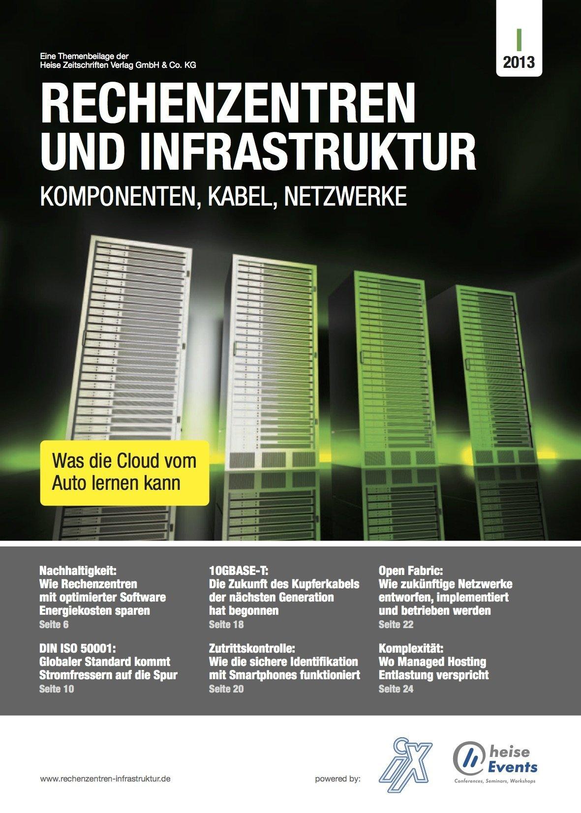 Rechenzentren und Infrastruktur 1/2013