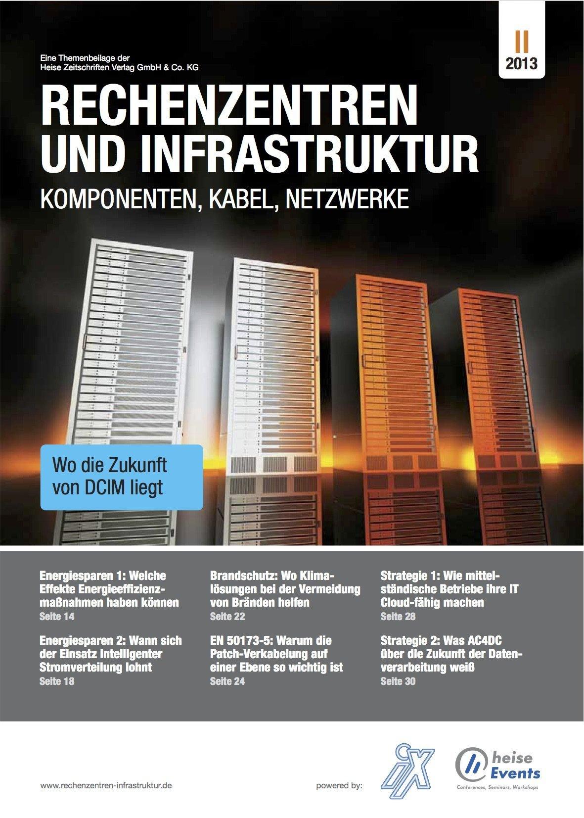 Rechenzentren und Infrastruktur 2/2013