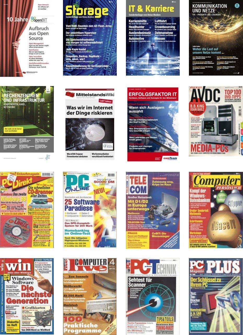 Zeitschriften und Beilagen von Thomas Jannot