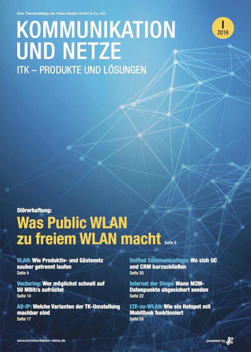 Kommunikation und Netze 1/2016