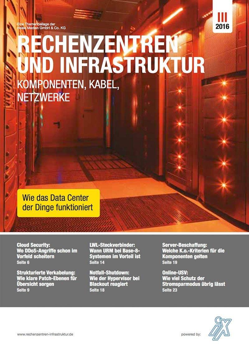 Rechenzentren & Infrastruktur 3/20163