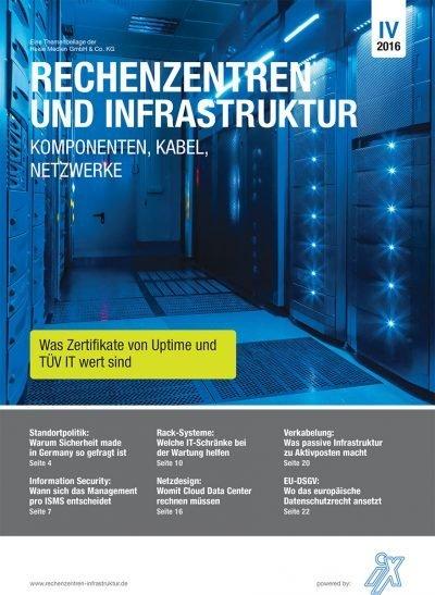 Rechenzentren und Infrastruktur 4/2016