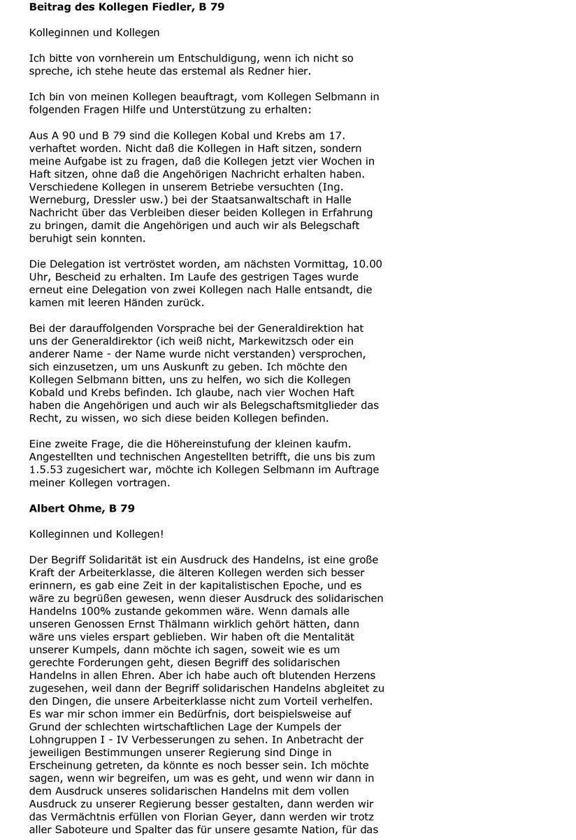 Protokoll einer Betriebsversammlung (1953), Seite 5