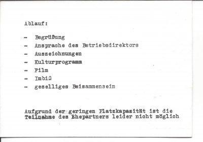 Einladung zur Abschlussfeier der Trassenbauer (1978), Seite 2/3