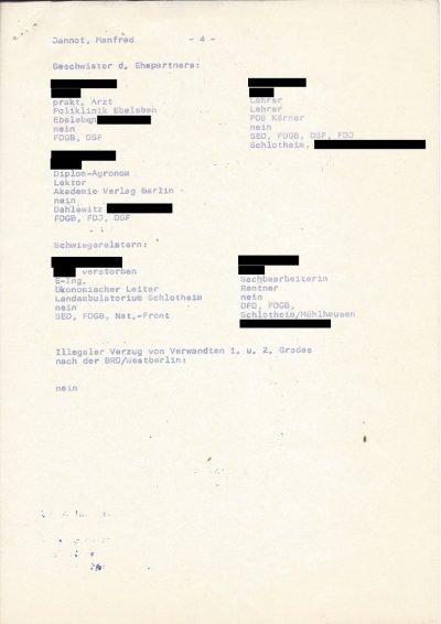 Kurzbiographie in den Akten der SED-Stadtbezirksleitung Leipzig-Nord (1979), Seite 4/4