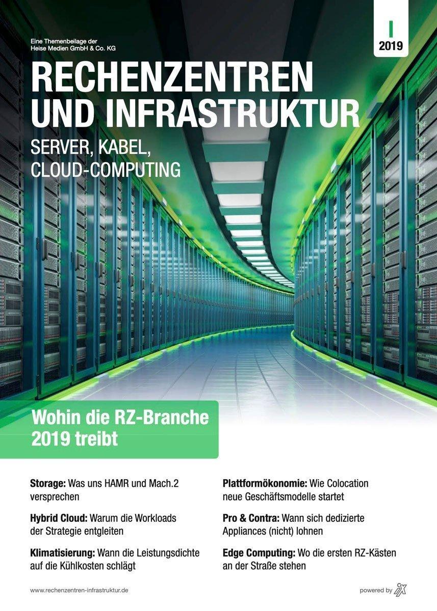 Rechenzentren und Infrastruktur 1/2019 in iX 4/19