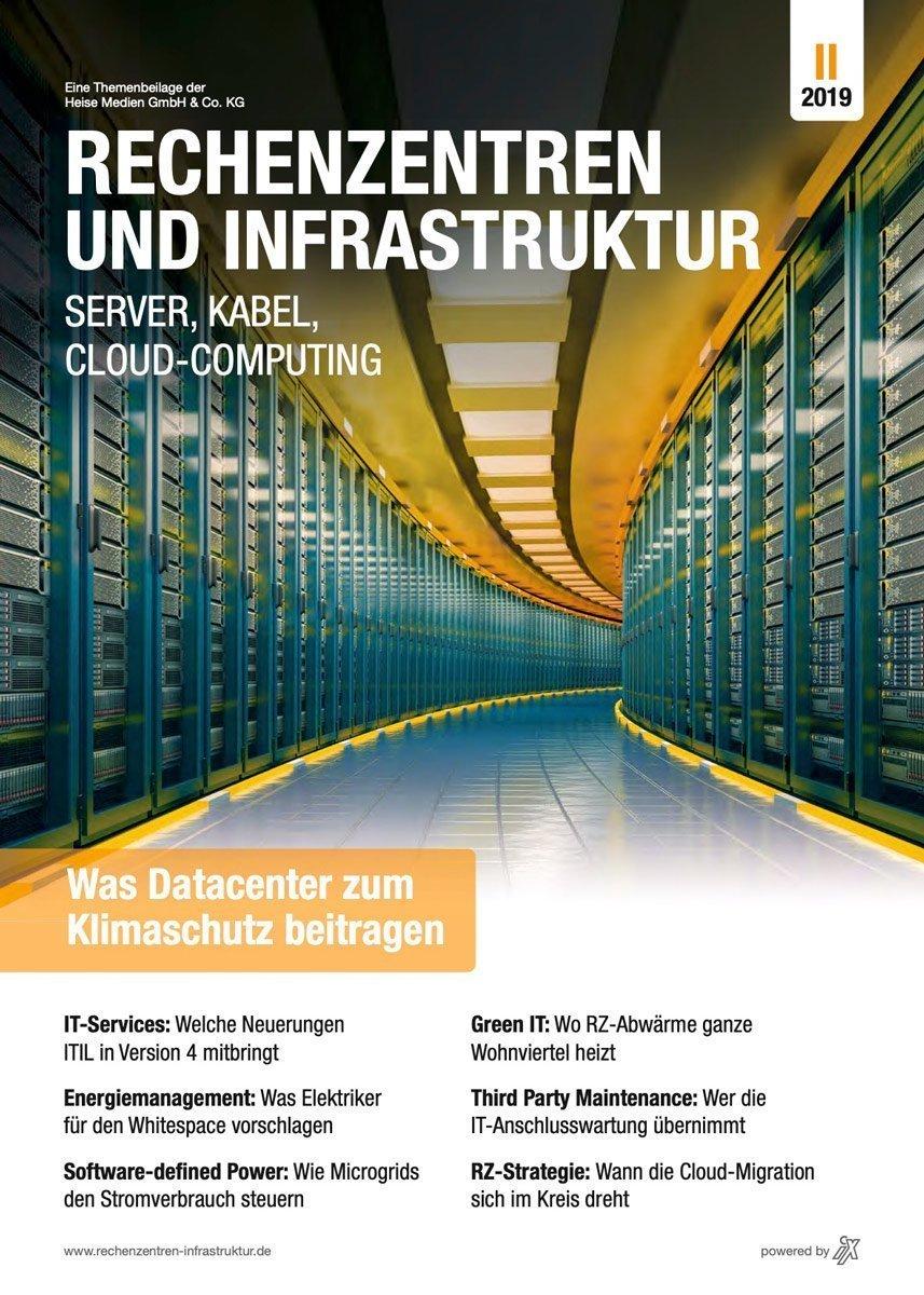 Rechenzentren und Infrastruktur II/2019 in iX 11/19