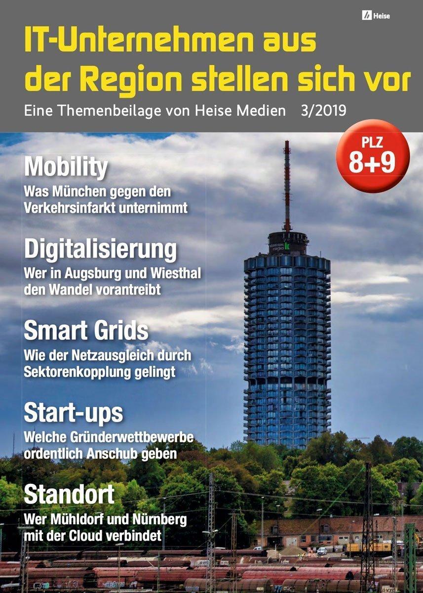 IT-Unternehmen aus der Region stellen sich vor 3/2019 (PLZ 8+) in c't 23/19